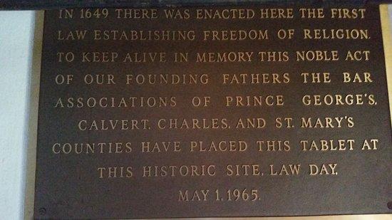 Saint Mary's City, แมรี่แลนด์: state house