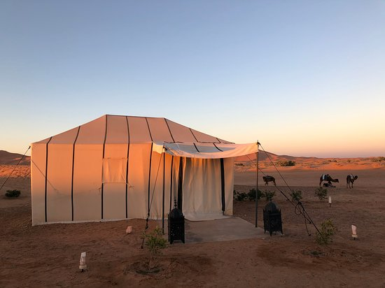 Our tent at the Saharian camp.
