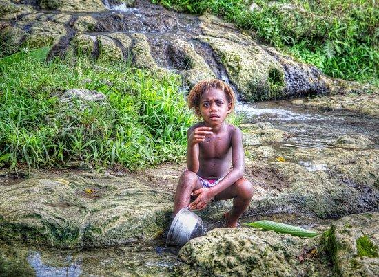 Südpazifik: Melanesian boy