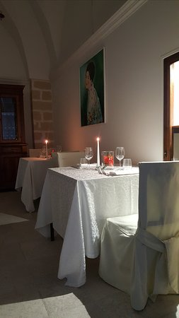 Carmiano, Itália: saletta ristorante