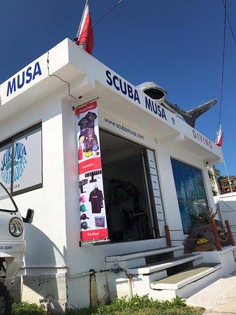 Our Dive center & boutique