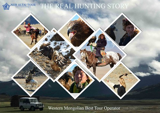 Bayan-Olgii Province, Mông Cổ: True story of real hunting with eagle.