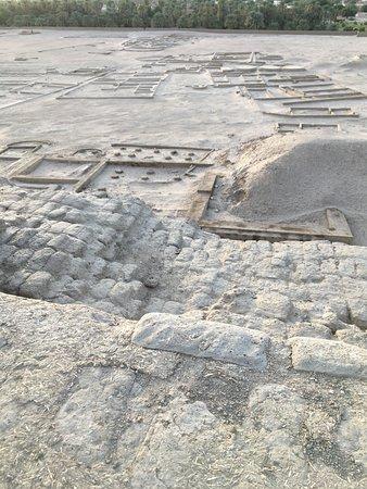 Kerma, Soudan : dalla cima della fortezza