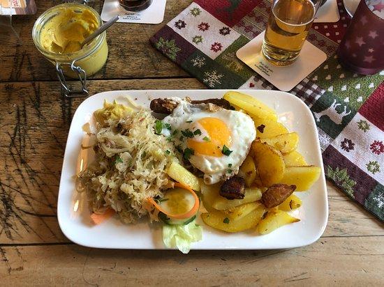 Kassel (Smoked Pork Loin) - Bild von Oma\'s Küche, Köln - TripAdvisor