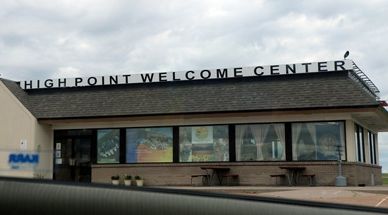 Kimball, NE: Exterior of the Welcome Center