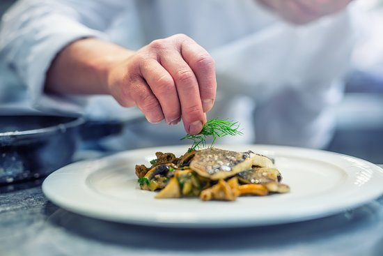 Pullach im Isartal, Jerman: French cooking Alte Brennerei Pullach