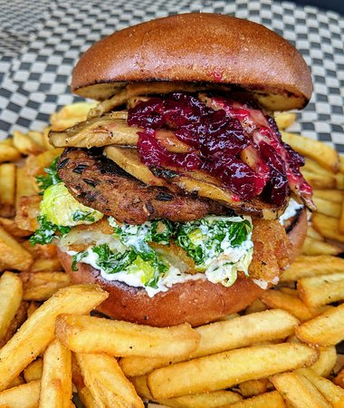 The Triple Ho Burger special for Christmas