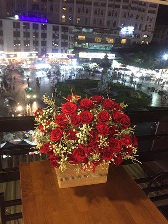 Nice view in Da Lat market