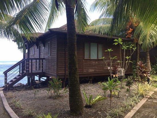 Saleapaga, Samoa: Our villa, Waterfront Villa 10