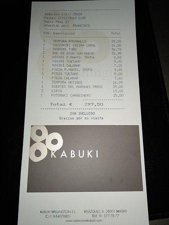 imagen Kabuki Wellington en Madrid