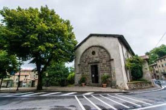 Abbadia San Salvatore, Itálie: כנסייה ליד המכרה