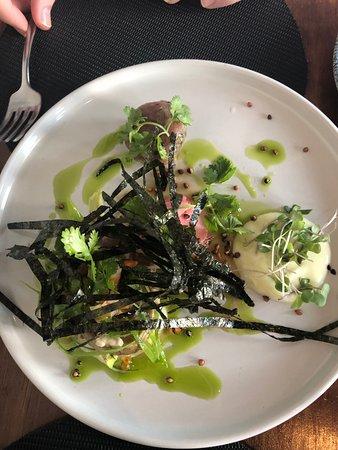 Reuben's Restaurant and Bar: Yellowfin Tuna Tataki