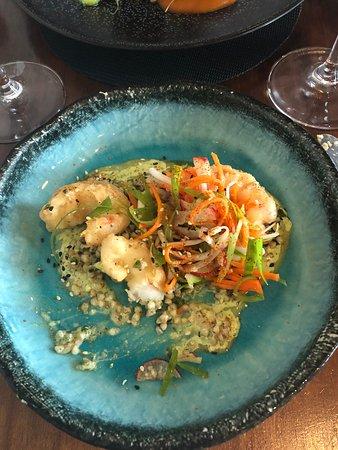 Reuben's Restaurant and Bar: Prawn tempura