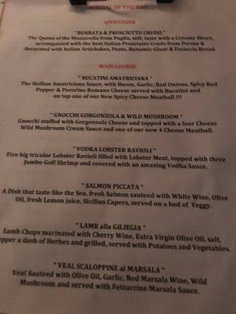 Isola Bella Italian Eatery: Sicily at Anna Maria