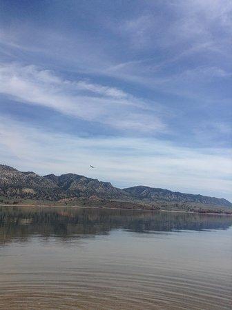 "Sinclair, WY: This lake has ""sea""gulls."