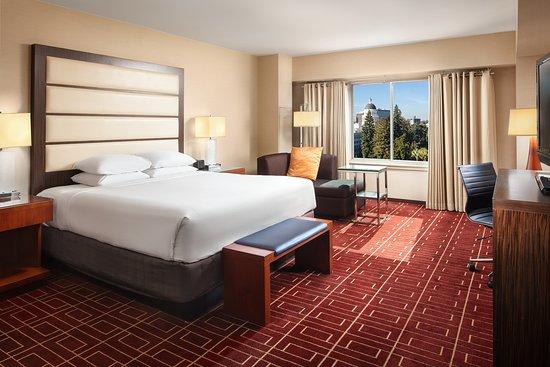 Capitol View Room Review Of Hyatt Regency Sacramento