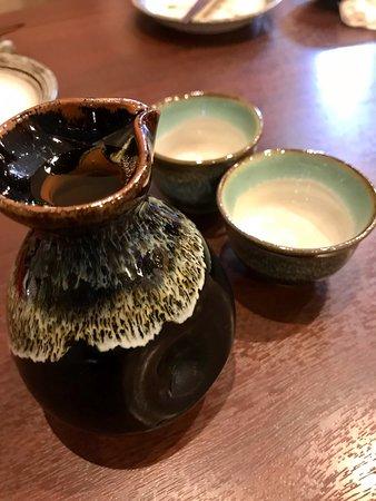 Soba Ozaki: 日本酒!