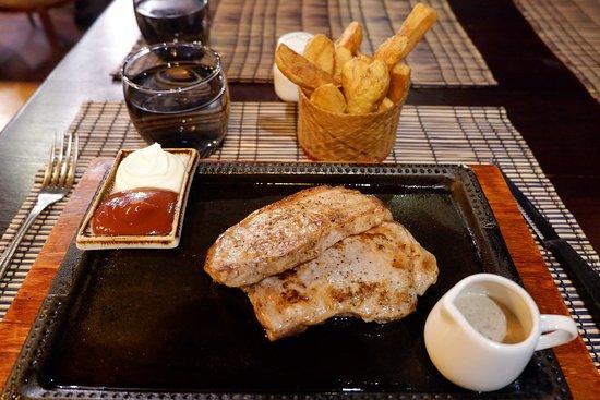 Sena Steak House: Porkloin with Fries