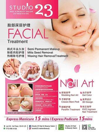 Studio 23 Nail & Beauty Salon: New year new promotion!