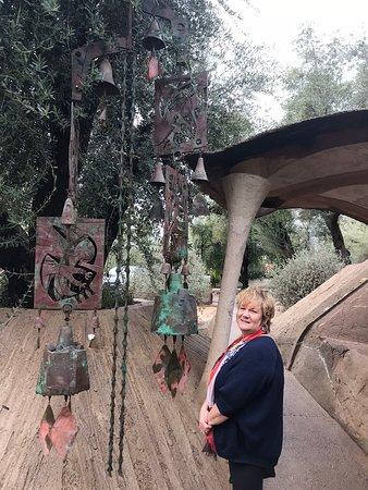Cosanti Originals: A huge bell!