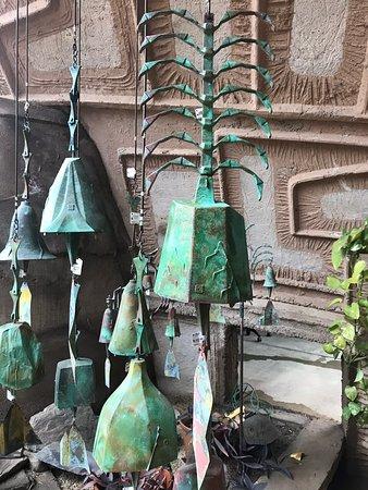 Cosanti Originals: A sample of bells.