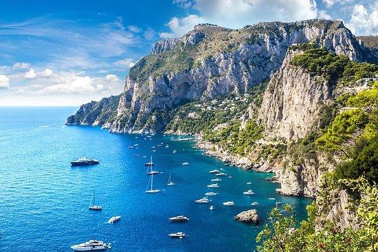 Excursion en bateau privée d'Amalfi à...