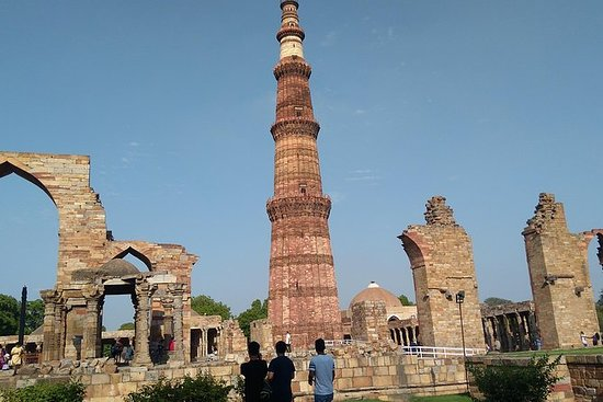 New Delhi and old Delhi tour by...