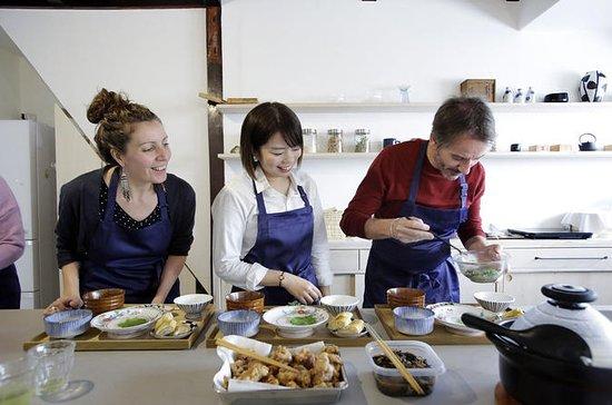 Auténtica clase de cocina japonesa en...