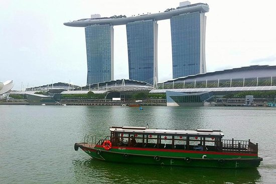 Riviercruise in Singapore ...