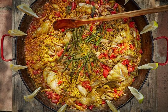 Paella et Arroz dans les magnifiques...