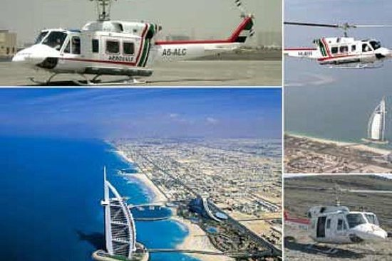 Dubai Hubschrauberrundfahrt