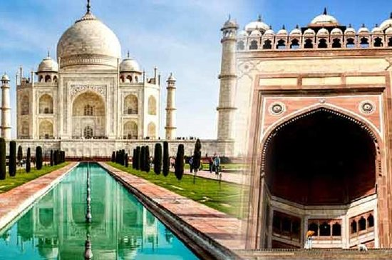 Private Full Day Tour of Taj Mahal ,Agra Fort & Fatehpur Sikri with Tickets