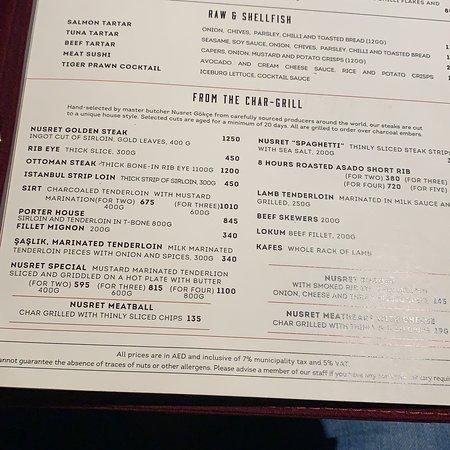 Nusr Et Steakhouse Dubai Jumeirah Restaurant Reviews Phone