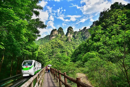Zhangjiajie, Chine : getlstd_property_photo