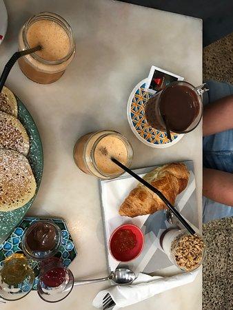 Quase Cafe: Brunch pour 2 : façon pancakes et brunch sucré/salé