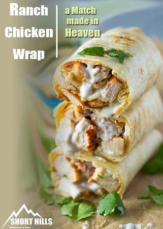 Salt Point, Nova York: #eatfresh 🌯🌯 ShortHills Ranch Chicken 🌯😍  a Match made in Heaven !!😍🤩