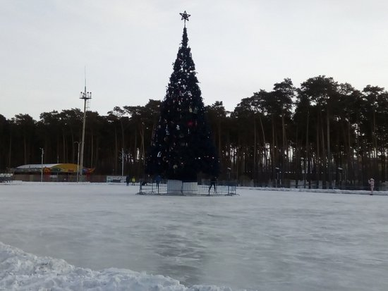 Amur Oblast, Rusia: Белогорск Амурской области. Городской парк 2019