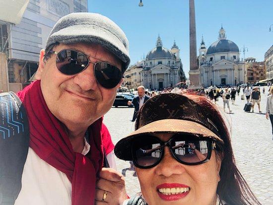 Lazio, Italy: The photo was taken last  September 2018 in  Rome. Italy