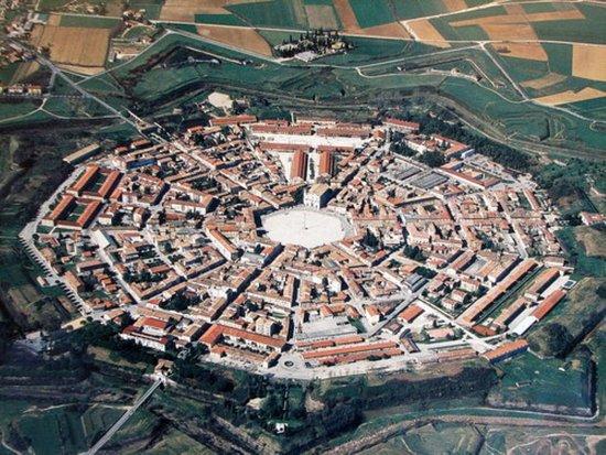 Friuli Venezia Giulia, Italy: palmanova la citta esaGONALE
