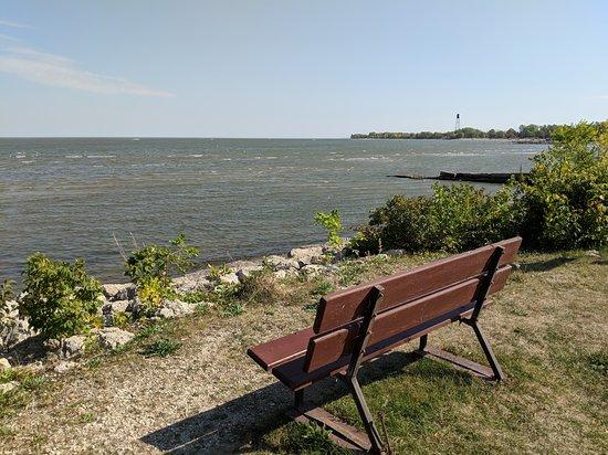 Winnipeg Beach, Canada: bench