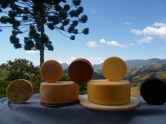 Alagoa, MG: Nossos deliciosos queijos feitos com muito amor e dedicação. Fazenda Bela Vista o melhor Queijo de alagoa MG.
