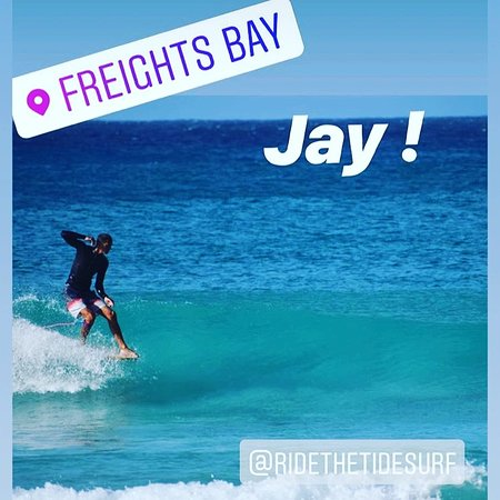 Surfing Lessons, Surfboard rentals & rash guards etc... at Ride The Tide Surf School and our NEW spot even closer to the waves at Freight's Bay Barbados.