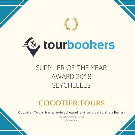 Cocotier Tours: Supplier award of 2018