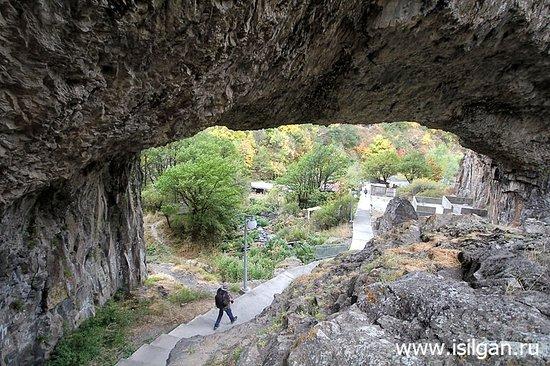 Джермук, Армения: Арка желаний. Джемрук. Армения