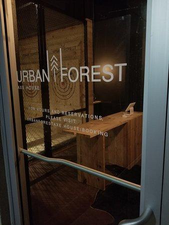 Urban Forest front door
