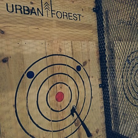 Urban Forest Axe House: Axe in the target