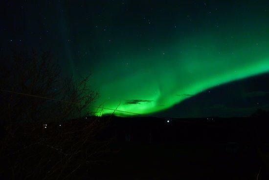 Os, Norge: Nordlys over Røste