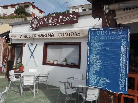 Bares, Spain: Entrada
