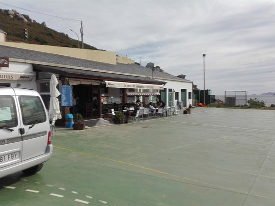 Bares, Spain: Terraza