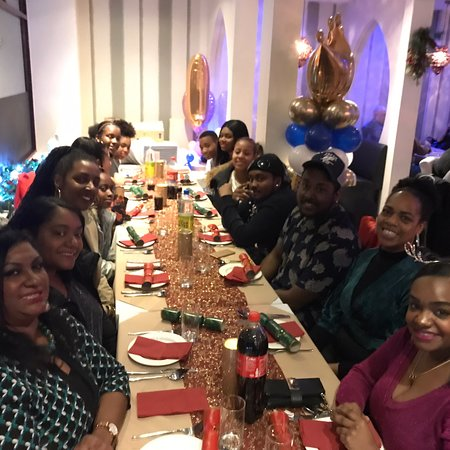 Everyone having a great evening with their family and friends. Hosted by family run restaurant